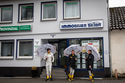Henri Moser, Maxime Martin and Markus Palttala shopping for a house in Adenau