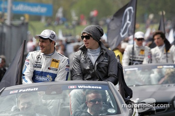 Gary Paffett and Robert Wickens