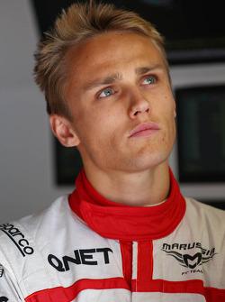 Max Chilton, Marussia F1 Team