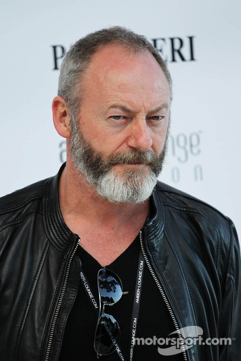 Liam Cunningham, Actor at the Amber Lounge Fashion Show