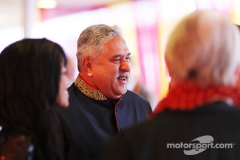 Dr. Vijay Mallya, Sahara Force India F1 Team Owner at the Signature F1 Monaco Party