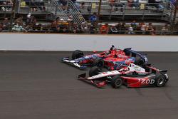 A.J. Allmendinger and Marco Andretti