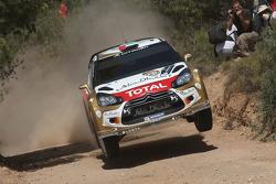 Khalid Al Qassimi and Scott Martin, Citroën DS3 WRC, Citroën Total Abu Dhabi World Rally Team