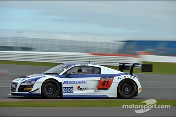 #41 Sainteloc Racing Audi R8 LMS Ultra: Claude-Yves Gosselin, Pierre Hirschi, Marc Sourd