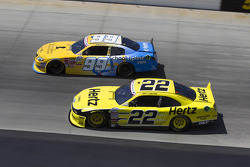 Joey Logano and Alex Bowman