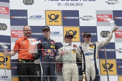Podium, 2nd Daniil Kvyat