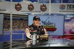 Pole Winner Johnny Sauter