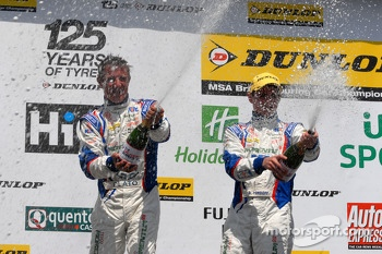 MG Duo Jason Plato and Sam Tordoff celebrate