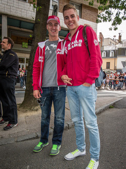Thomas Holzer and Dominik Kraihamer