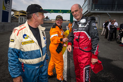 Dr. Wolfgang Ullrich shares a laugh with officials