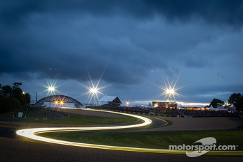 Night lights at the Esses
