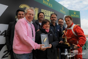 The ACO/UJSF Communications' Prize has been awarded to Stéphanie Val, the OAK Racing team's press officer