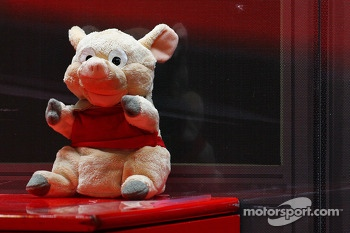 Mascot for Fernando Alonso, Ferrari