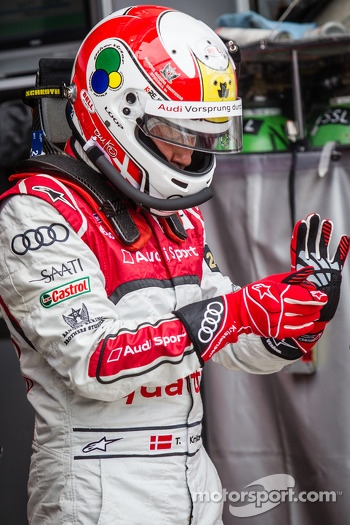 Tom Kristensen ready for his last stint