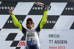 Race winner Valentino Rossi, Yamaha Factory Racing