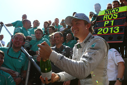 1st Nico Rosberg, Mercedes AMG F1 W04