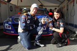 Fredy Barth, BMW E90 320 TC, Wiechers-Sport and Miss Yokohama