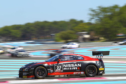 #32 Nissan GT Academy Team RJN: Mark Shulzhitskiy, Steve Doherty, Wolfgang Reip, Nissan GT-R Nismo GT3