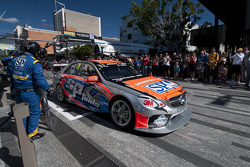 Maro Engel, SP Tools Racing gets a pitstop in the middle of Townsville