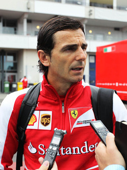 Pedro de la Rosa, Ferrari Development Driver and GPDA Chairman