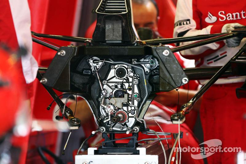 Ferrari F138 gearbox