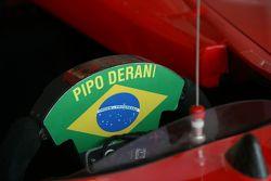 Pipo Derani's car