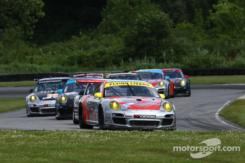 #45 Flying Lizard Motorsports Porsche 911 GT3 RSR: Nelson Canache, Jr., Spencer Pumpelly