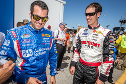 Sam Hornish Jr. and Joey Logano