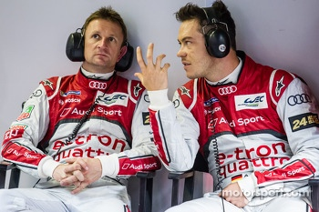 Allan McNish and Andre Lotterer