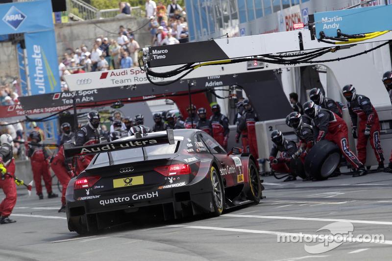Pitstop Edoardo Mortara, Audi Sport Team Rosberg Audi RS 5 DTM