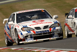 Ex David Leslie 1999 Super Touring Nissan Primera driven by Keith Butcher