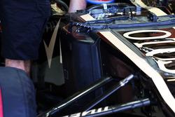 Device on the Lotus F1 E21
