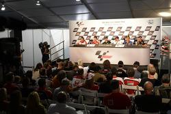 Rider press conference