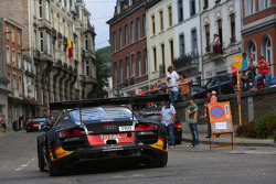 BES: #13 Belgian Audi Club Team WRT Audi R8 LMS Ultra: Frank Stippler, Marcel Fässler, Mattias Ekström