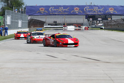 #63 Scuderia Corsa Ferrari 458: Alessandro Balzan, Leh Keen