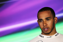 Lewis Hamilton, Mercedes AMG F1 in the FIA Press Conference