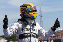 1st place Lewis Hamilton, Mercedes AMG F1