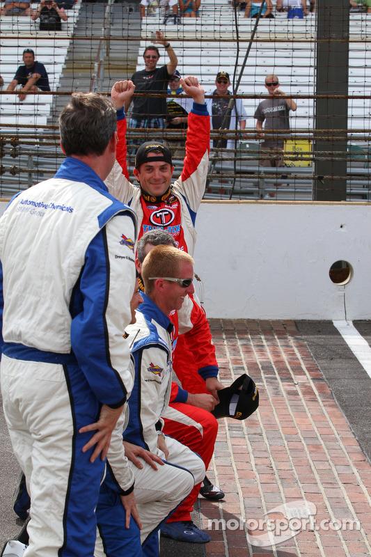 Race winner Bryan Sellers