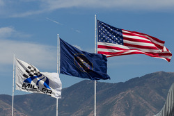 Breezy afternoon at Miller Motorsports Park Park