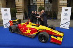 Formula E China Racing presentation
