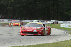 #61 R.Ferri/AIM Motorsport Racing with Ferrari Ferrari 458: Ken Wilden, Jeff Segal