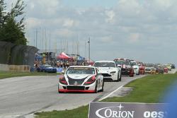 #14 Doran Racing Nissan 370Z: Bryan Heitkotter, B.J. Zacharias