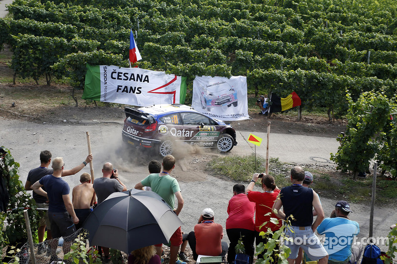 Thierry Neuville, Nicolas Gilsoul, Ford Fiesta WRC Qatar World Rally Team