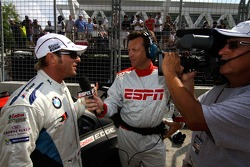 Pre-race interviews