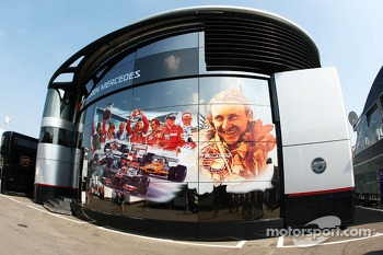 McLaren celebrate 50 years as a constructor on their motorhome