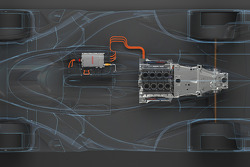 Toyota LMP1 Engine Rendering