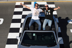 Fernando Monje, SEAT Leon WTCC, Campo Racing and Pepe Oriola, SEAT Leon WTCC, Tuenti Racing