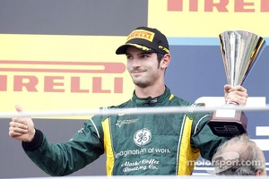 Second place Alexander Rossi