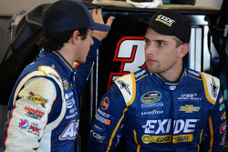 Chase Elliott and James Buescher