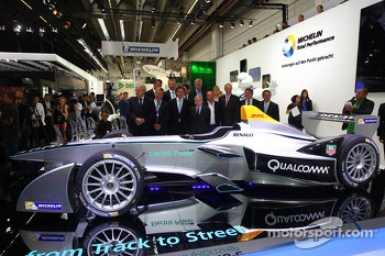 Formula E official  presentation